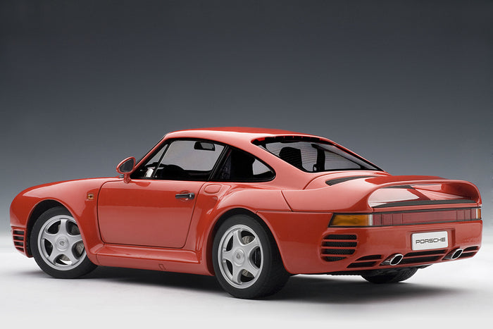 Porsche 959 | 1:18-Scale Diecast Model Car by AUTOart | Rear Quarter
