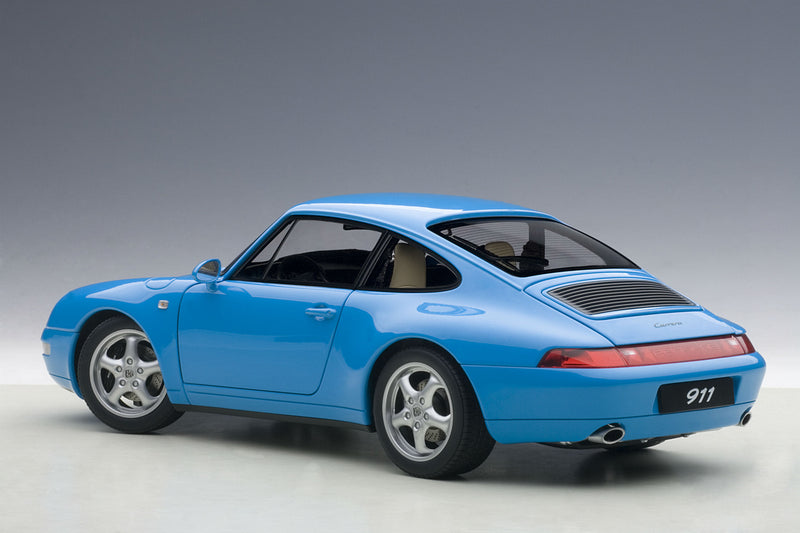 Porsche 993 | 1:18 Scale Model Car by AUTOart | Rear Quarter