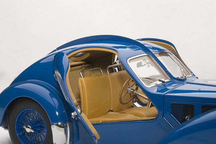 Bugatti T57SC Atlantic | 1:18 Scale Diecast Model Car by AUTOart | Interior Detail