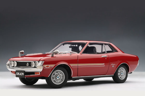 Toyota Celica 1600GT (TA22, 1970) | 1:18 Scale Diecast Model Car by AUTOart | Front Quarter