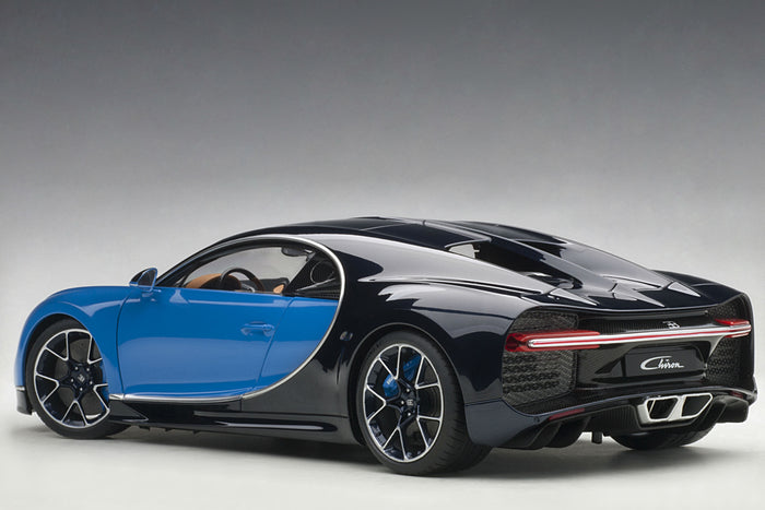 Bugatti Chiron | 1:18 Scale Model Car by AUTOart | Rear Quarter