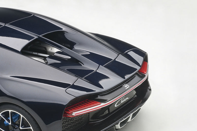 Bugatti Chiron | 1:18 Scale Model Car by AUTOart | Rear Detail