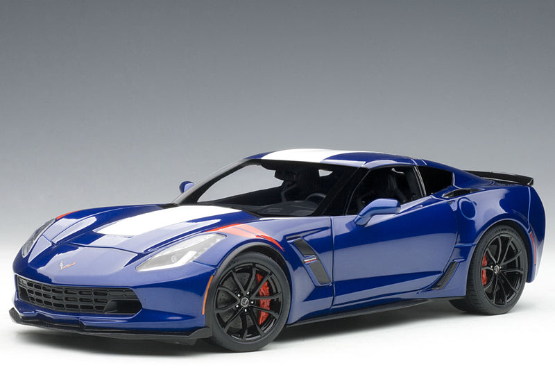Chevrolet Corvette Grand Sport (2017) | 1:18 Scale Model Car by AUTOart | Front Quarter