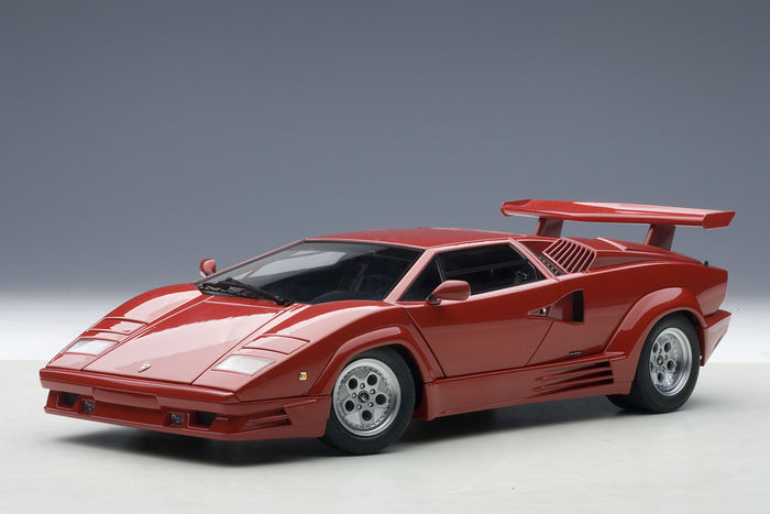 Lamborghini Countach 25th Anniversary | 1:18 Scale Diecast Model Car by AUTOart | Front Quarter