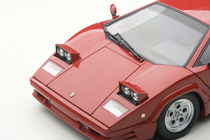 Lamborghini Countach 25th Anniversary | 1:18 Scale Diecast Model Car by AUTOart | Headlights