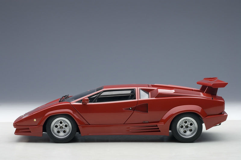 Lamborghini Countach 25th Anniversary | 1:18 Scale Diecast Model Car by AUTOart | Profile