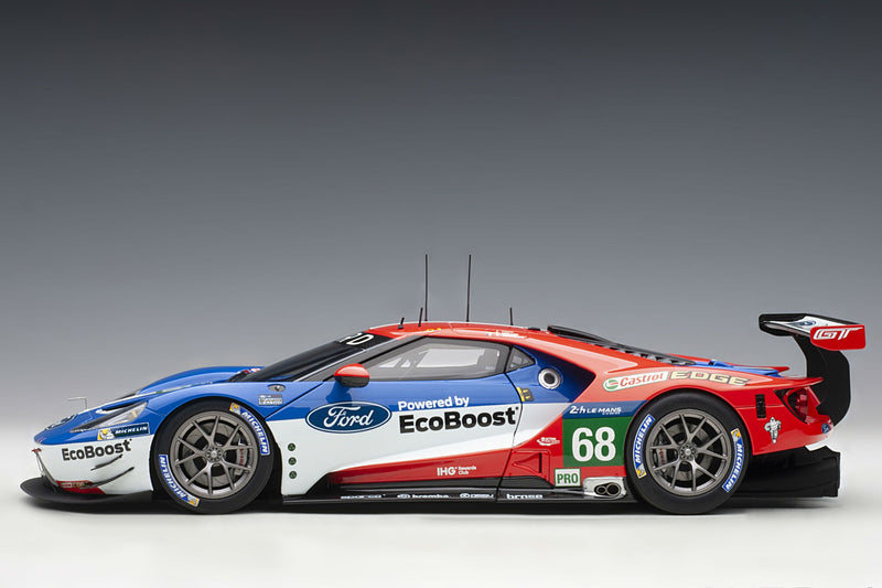 Ford GT GTE-LM (2016 Le Mans Class Winner) | 1:18 Scale Model Car by AUTOart | Profile