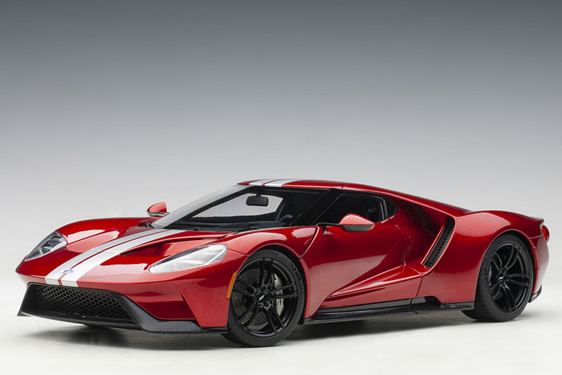 Ford GT (2017) | 1:18 Scale Model Car by AUTOart | Liquid Red variant