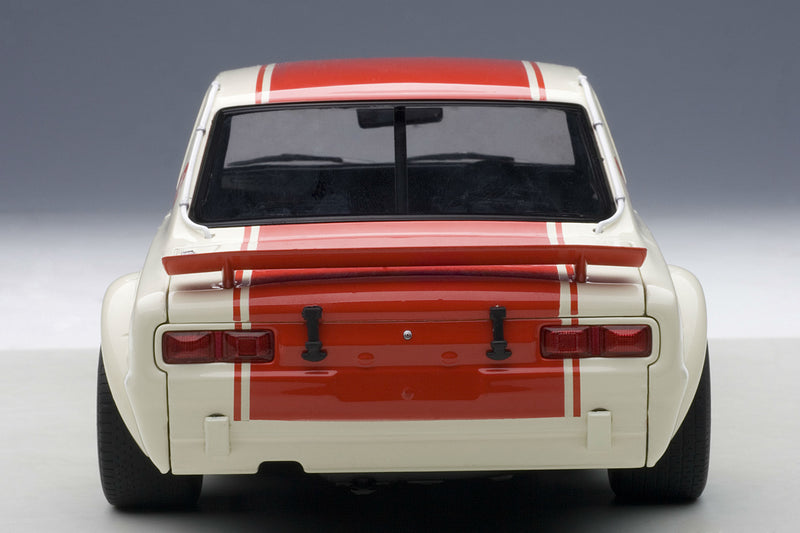 Nissan Skyline GT-R (1971 Japan GP Winner) | 1:18 Scale Diecast Model Car by AUTOart | Rear