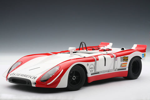 Porsche 908/2 (1969 Watkins Glen 6 Hours Winner) | 1:18-Scale Diecast Model Car by AUTOart | Front Quarter