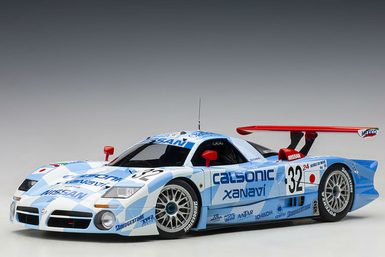Nissan R390 GT1 (1998 24 Hours of Le Mans) - 1:18 Scale Diecast Model Car