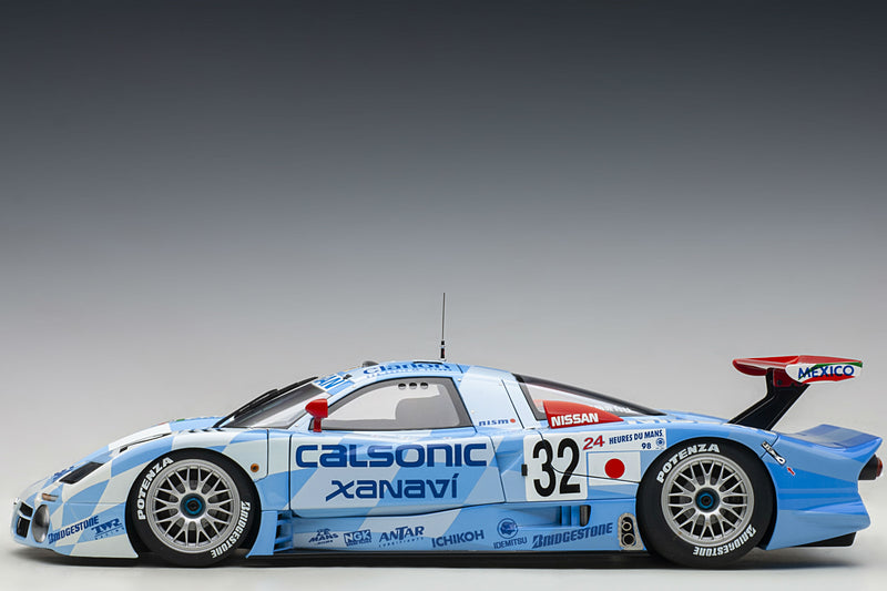 Nissan R390 GT1 (Le Mans 1998) | 1:18 Scale Diecast Car by AUTOart | Profile
