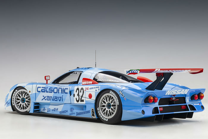 Nissan R390 GT1 (Le Mans 1998) | 1:18 Scale Diecast Car by AUTOart | Rear Quarter