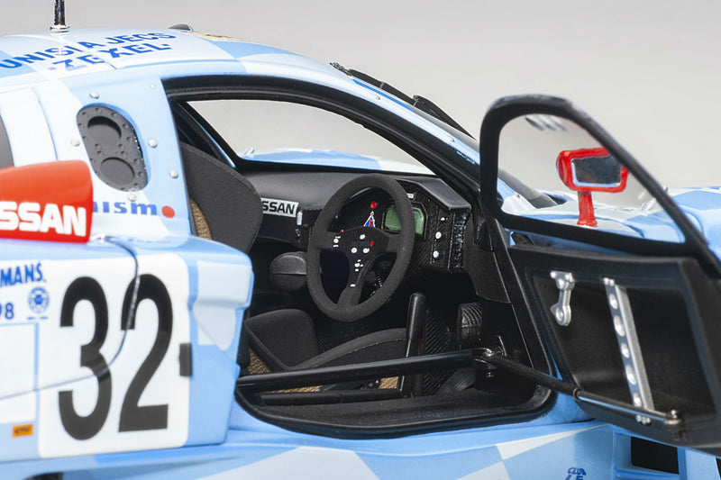 Nissan R390 GT1 (Le Mans 1998) | 1:18 Scale Diecast Car by AUTOart | Right Interior