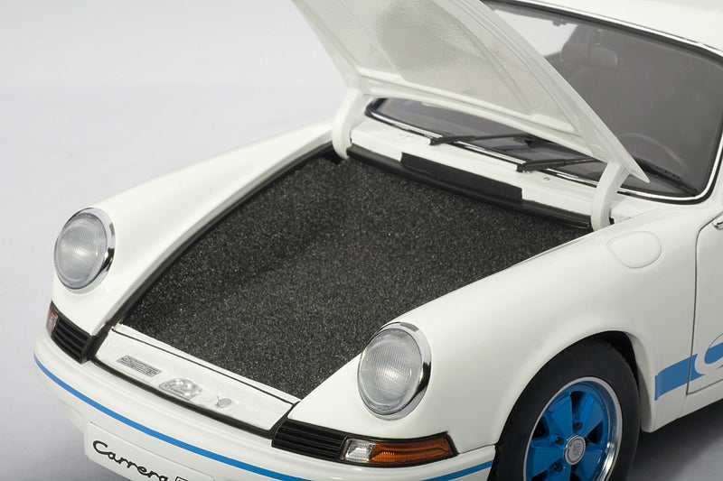 Porsche 911 Carrera RS 2.7 (1973) | 1:18 Scale Diecast Model Car by AUTOart | Luggage Compartment