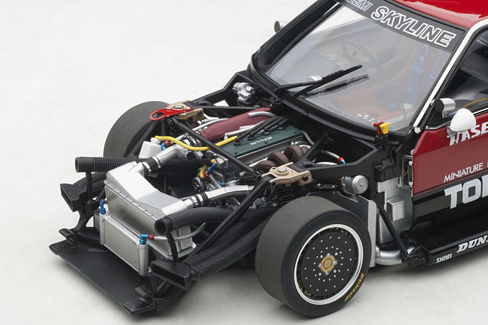 Nissan Skyline RS Turbo Super Silhouette (DR30, 1982) | 1:18 Scale Diecast Model Car by AUTOart | Engine Detail