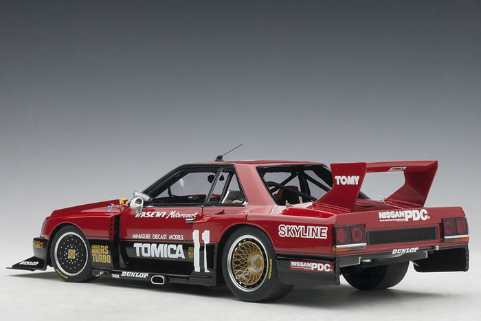 Nissan Skyline RS Turbo Super Silhouette (DR30, 1982) | 1:18 Scale Diecast Model Car by AUTOart | Rear Quarter