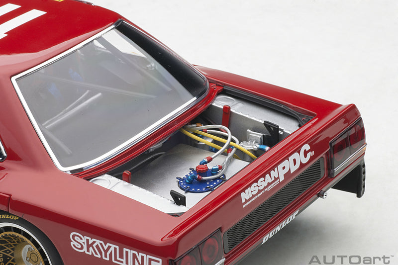 Nissan Skyline RS Turbo Super Silhouette (DR30, 1982) | 1:18 Scale Diecast Model Car by AUTOart | Rear Detail