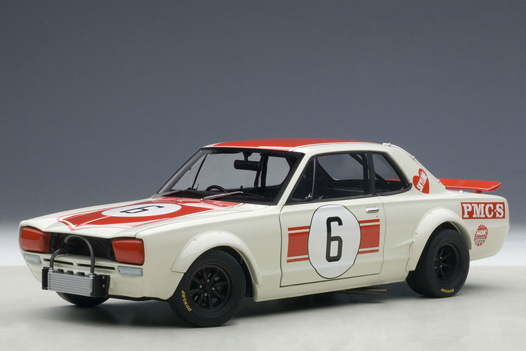 Nissan Skyline GT-R (1971 Japan GP Winner) - 1:18 Scale Diecast Model Car