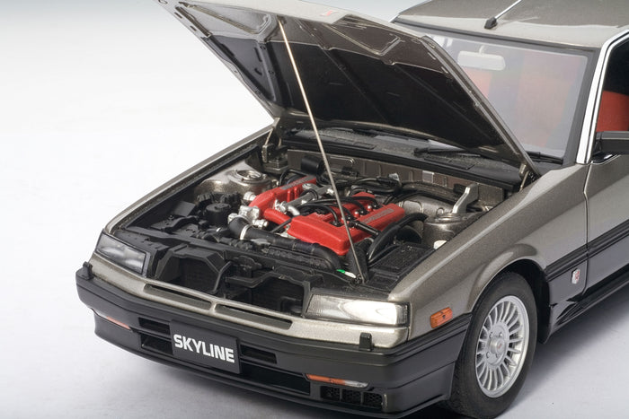 Nissan Skyline GT-X Turbo (DR30, 1984) | 1:18 Scale Diecast Model Car by AUTOart | Engine