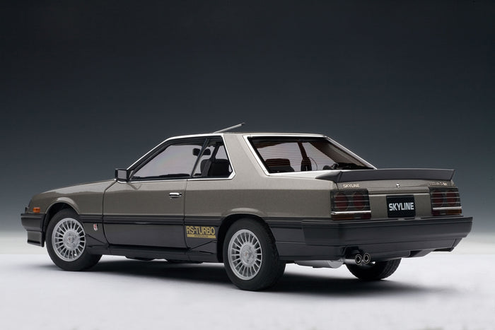 Nissan Skyline GT-X Turbo (DR30, 1984) | 1:18 Scale Diecast Model Car by AUTOart | Rear Quarter