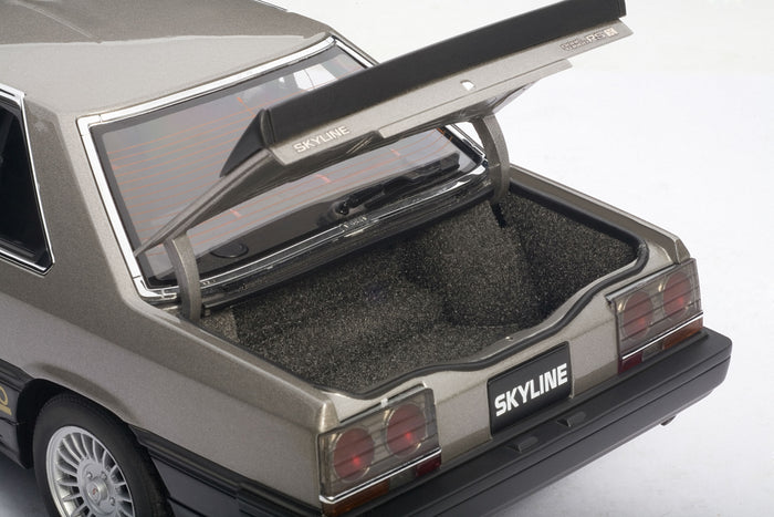 Nissan Skyline GT-X Turbo (DR30, 1984) | 1:18 Scale Diecast Model Car by AUTOart | Trunk
