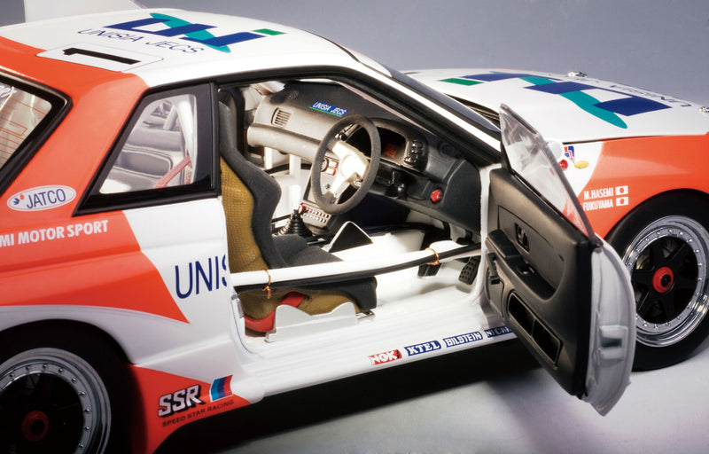 Nissan Skyline GT-R Group A (1993 Hasemi Motorsport) | 1:18 Scale Diecast Model Car by AUTOart | Right Detail
