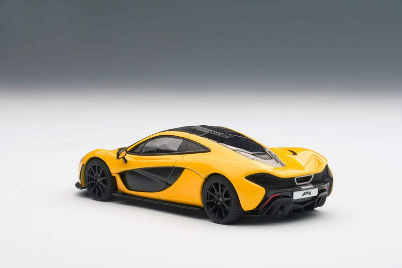 McLaren P1 | 1:43 Scale Diecast Model Car by AUTOart | Rear Quarter
