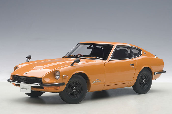 Nissan Fairlady Z432 | 1:18 Scale Diecast Model Car by AUTOart | Orange Variant