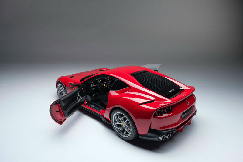 Ferrari 812 Superfast | 1:8 Scale Model Car by the Amalgam Collection | Door Open