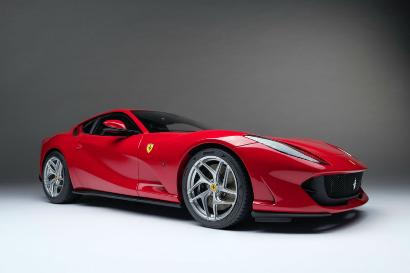 Ferrari 812 Superfast | 1:8 Scale Model Car by the Amalgam Collection | Front Quarter