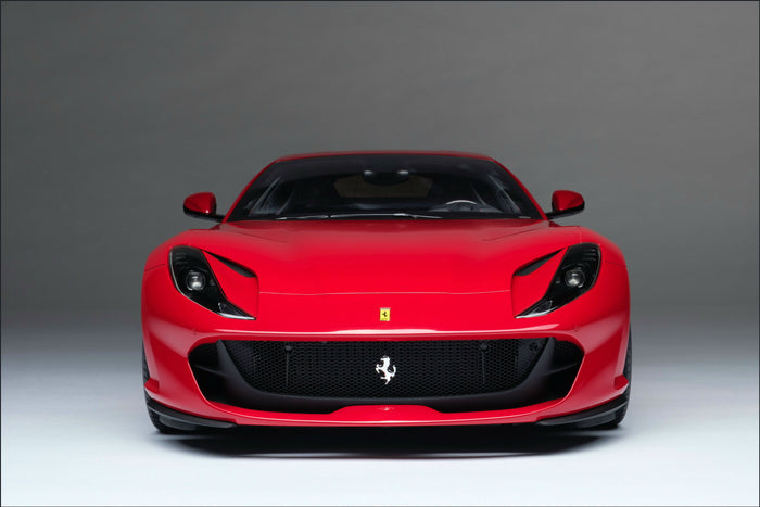 Ferrari 812 Superfast | 1:8 Scale Model Car by the Amalgam Collection | Front View