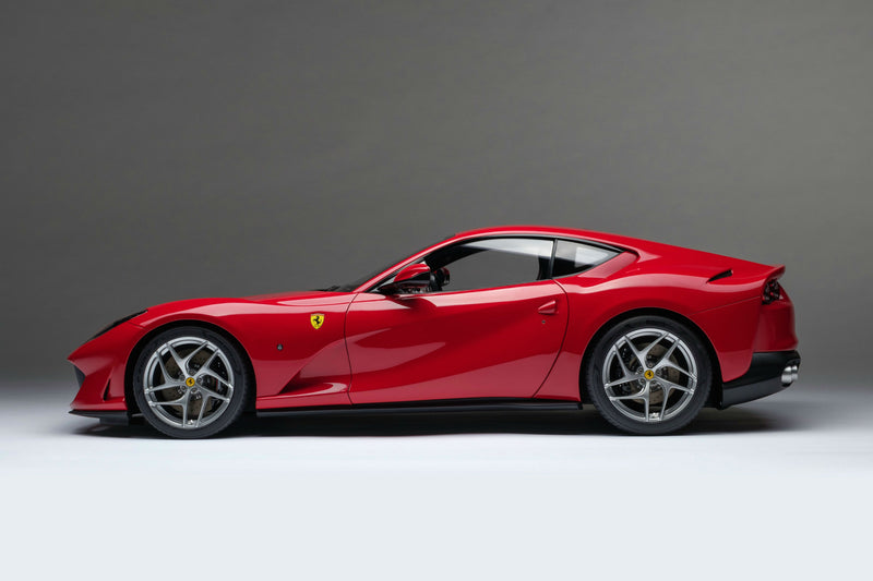 Ferrari 812 Superfast | 1:8 Scale Model Car by the Amalgam Collection | Profile