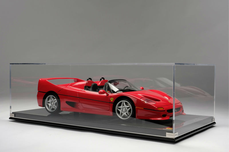 Ferrari F50 (U.S. Version) | 1:8 Scale Model Car by the Amalgam Collection | Display Case