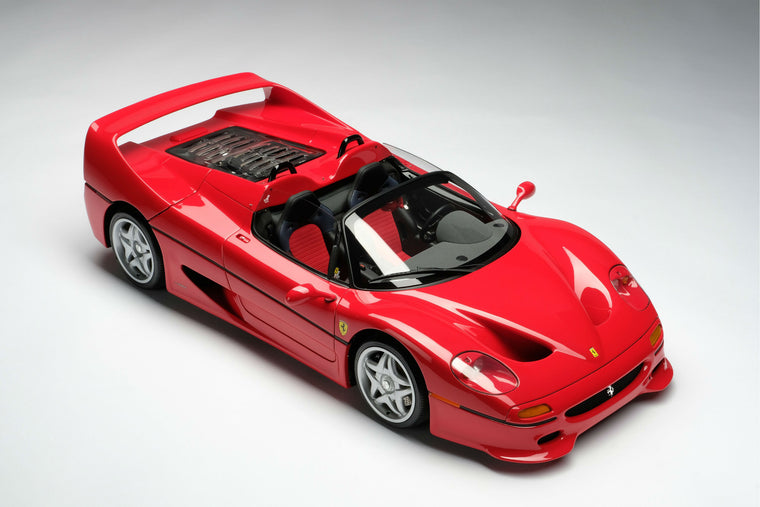 Ferrari F50 (U.S. Version) - 1:8 Scale Model Car by Amalgam