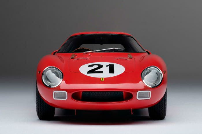Ferrari 250LM (1965 Le Mans Winner) | 1:18 Scale Model Car by Amalgam Collection | Front