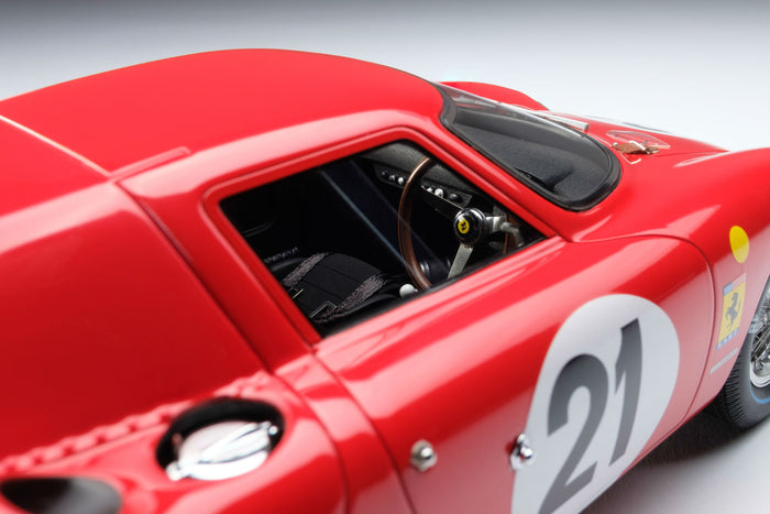Ferrari 250LM (1965 Le Mans Winner) | 1:18 Scale Model Car by Amalgam Collection | Right Interior