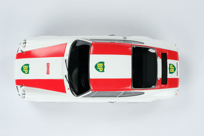 Porsche 911R (1967) | 1:18 Scale Model Car by Amalgam Collection | Overhead
