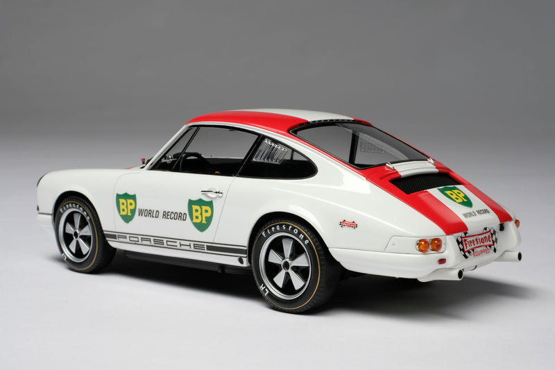 Porsche 911R (1967) | 1:18 Scale Model Car by Amalgam Collection | Rear Quarter