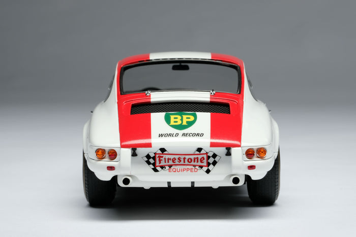 Porsche 911R (1967) | 1:18 Scale Model Car by Amalgam Collection | Rear