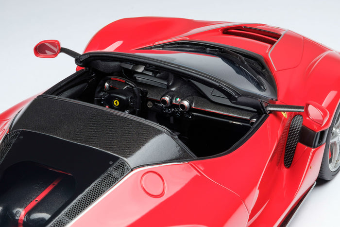 Ferrari LaFerrari Aperta | 1:18 Scale Model Car by Amalgam Collection | Right Cockpit