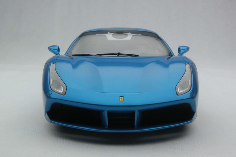 Ferrari 488 Spider | 1:8 Scale Model Car by Amalgam Collection | Front