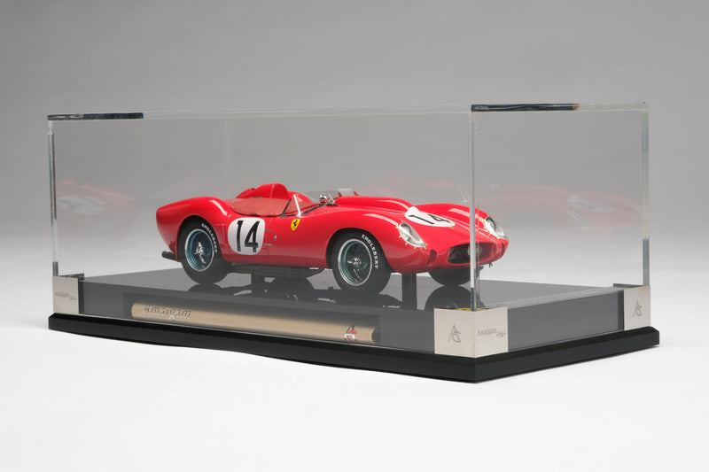 Ferrari 250 Testa Rossa (1958 Le Mans Winner) | 1:18 Scale Model Car by Amalgam Collection | Display Case