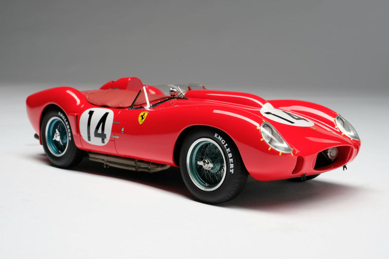 Ferrari 250 Testa Rossa (1958 Le Mans Winner) | 1:18 Scale Model Car by Amalgam Collection | Front Quarter