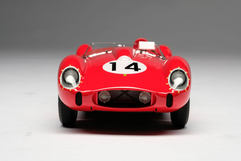Ferrari 250 Testa Rossa (1958 Le Mans Winner) | 1:18 Scale Model Car by Amalgam Collection | Front