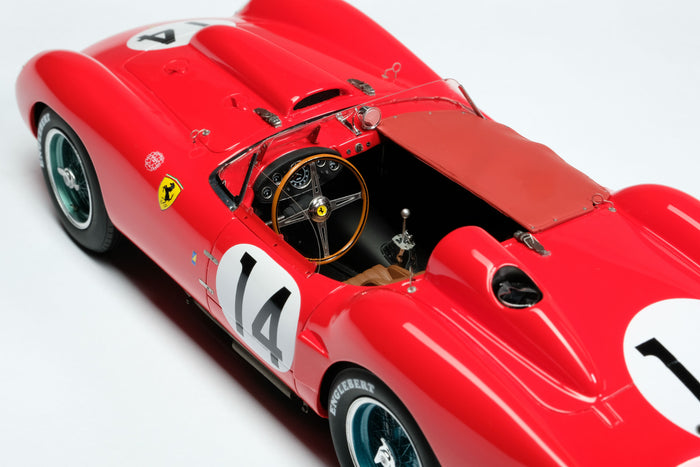Ferrari 250 Testa Rossa (1958 Le Mans Winner) | 1:18 Scale Model Car by Amalgam Collection | Interior Detail