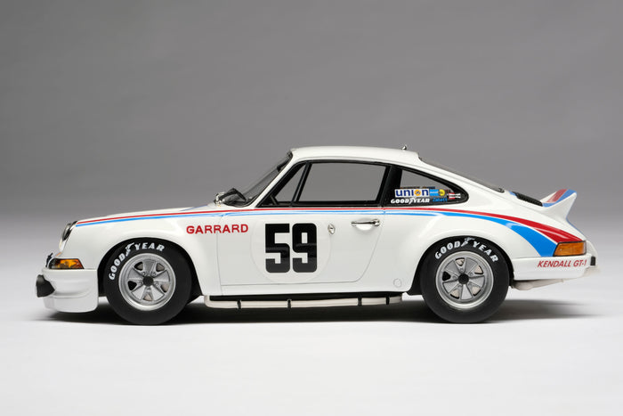 Porsche 911RSR 2.8 (1973 Daytona 24 Hours) | 1:18 Scale Model Car by Amalgam Collection | Profile