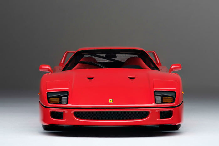 Ferrari F40 | 1:18 Scale Model Car by Amalgam Collection | Front