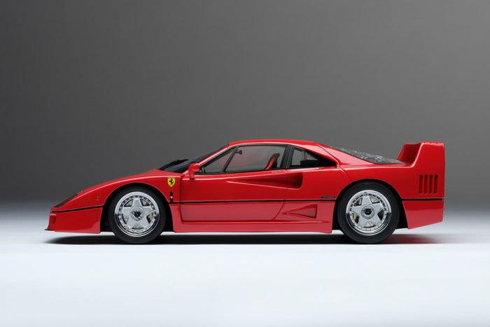 Ferrari F40 | 1:18 Scale Model Car by Amalgam Collection | Profile