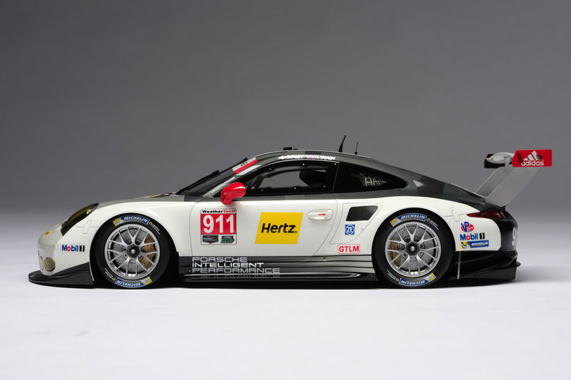Porsche 911 RSR (2016) | 1:18 Scale Model Car by Amalgam Collection | Left Profile